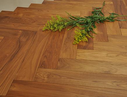 缅甸柚木实木地板木蜡油板410长