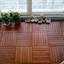 感谢北京宋先生柚木地板户外板铺装图