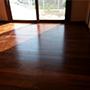 感谢广东佛山尤小姐910*125*18柚木地板漆板铺装图