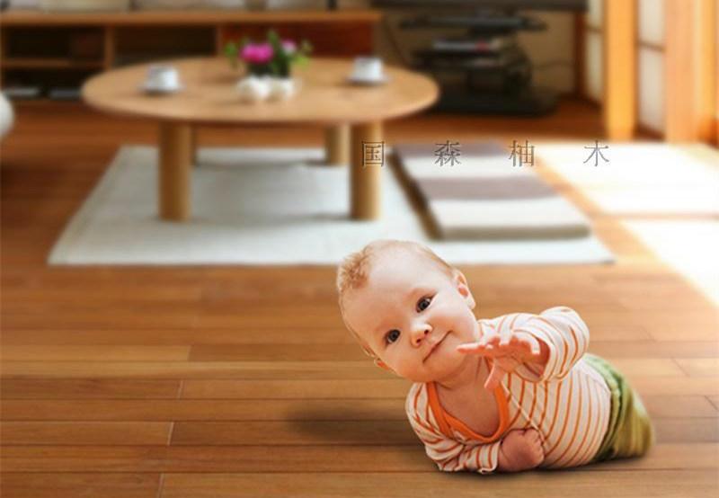 感谢:江门客户拍照于广东江门柚木地板的住家-国森柚木地板品牌