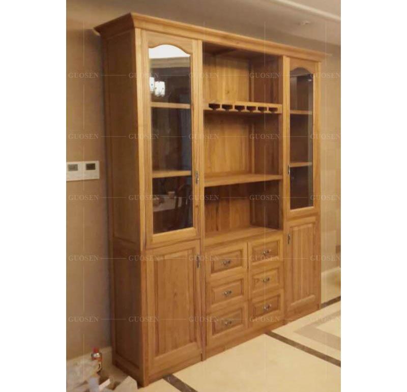 柚木实木衣柜