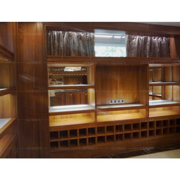 柚木酒窖柜