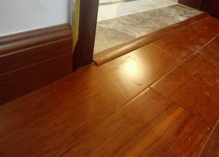 缅甸柚木实木线条T字线-油漆