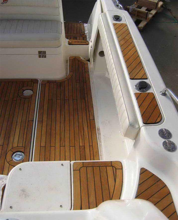 缅甸柚木地板游艇船甲板
