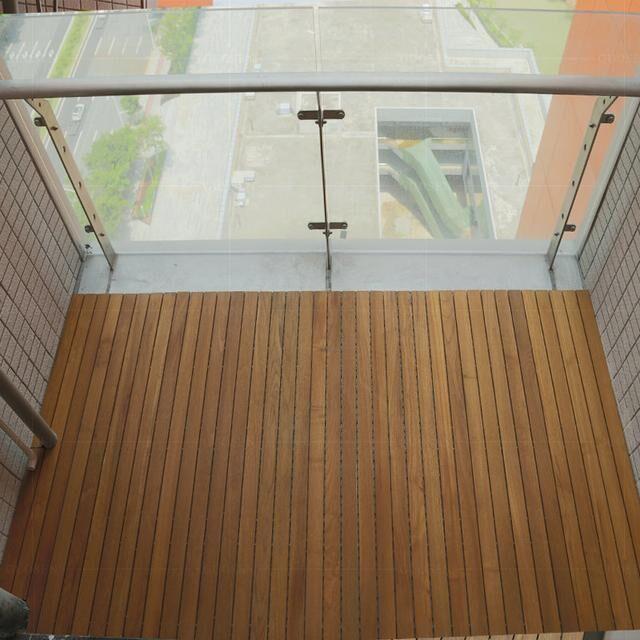 缅甸柚木阳台长地板该如何下单定制